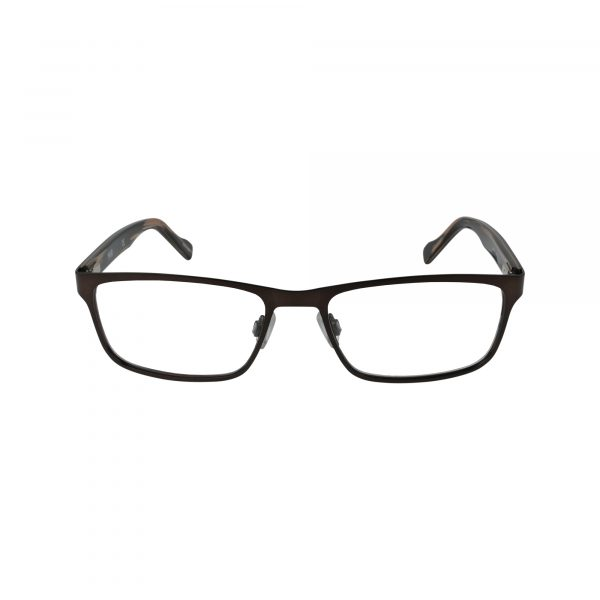 151 Brown Glasses - Front View