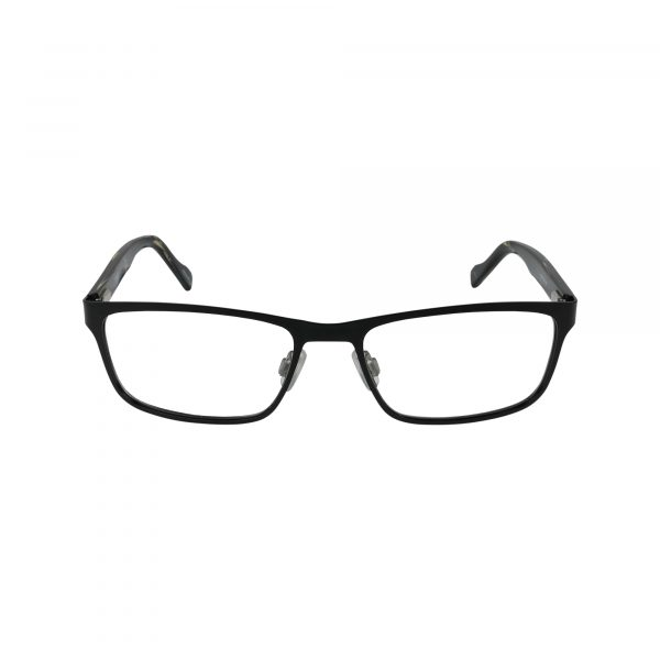 151 Black Glasses - Front View