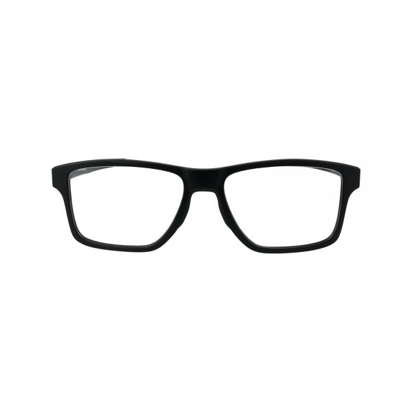 Chamfer Squared OX8143 Black Glasses - Front View