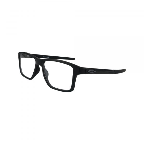 Chamfer Squared OX8143 Black Glasses - Side View