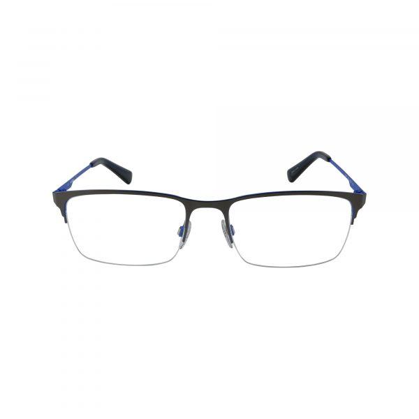 DL5347 Gunmetal Glasses - Front View