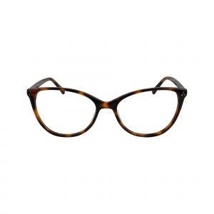 Koa Tortoise Glasses - Front View