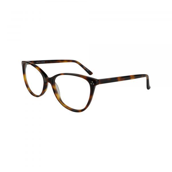 Koa Tortoise Glasses - Side View