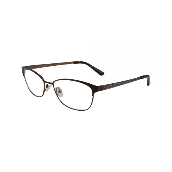 Twist Trinity Brown Glasses - Side View