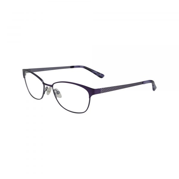 Twist Trinity Purple Glasses - Side View