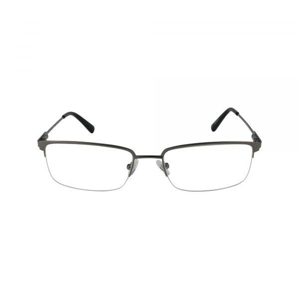50005 Gunmetal Glasses - Front View