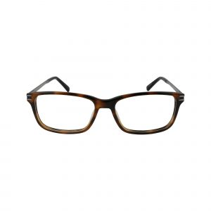 1986 Brown Glasses - Front View