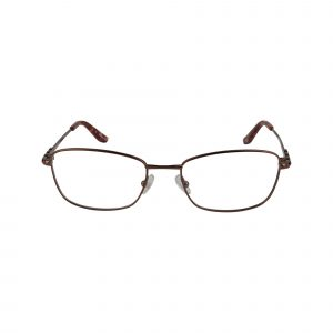 Twist Shangri-La Brown Glasses - Front View