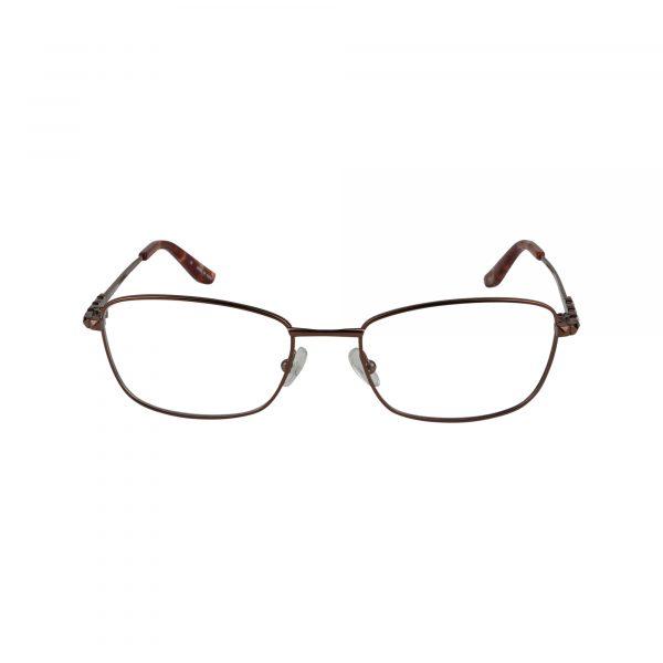 Twist Shangri-La Brown Glasses - Front View