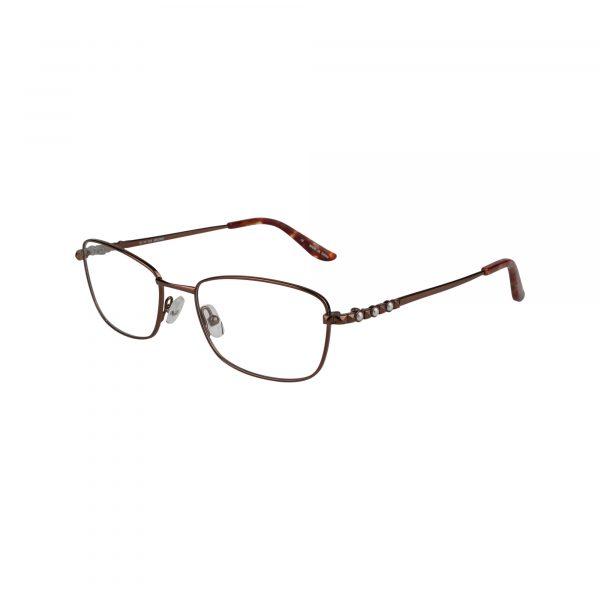 Twist Shangri-La Brown Glasses - Side View
