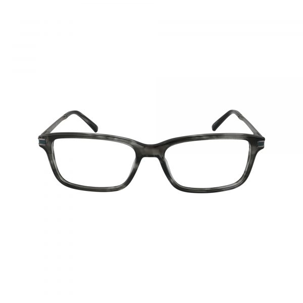 1986 Gunmetal Glasses - Front View