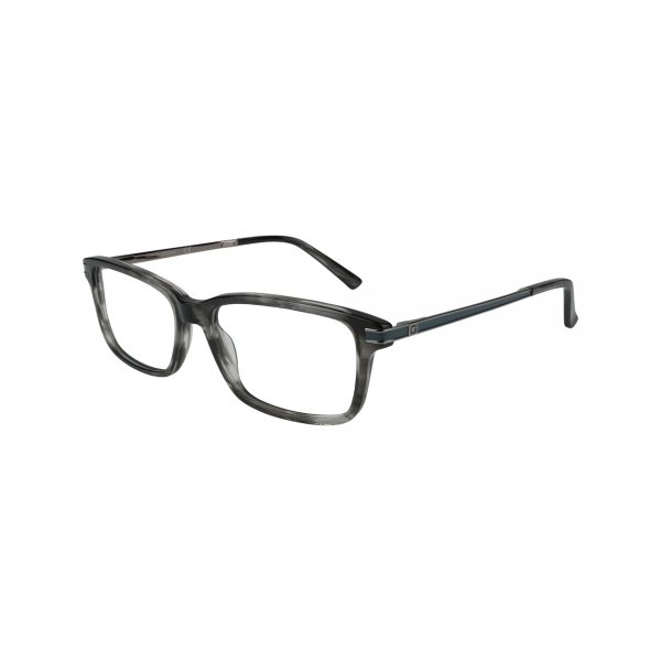 1986 Gunmetal Glasses - Side View