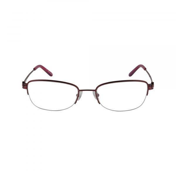 Twist Ashburn Red Glasses - Front View