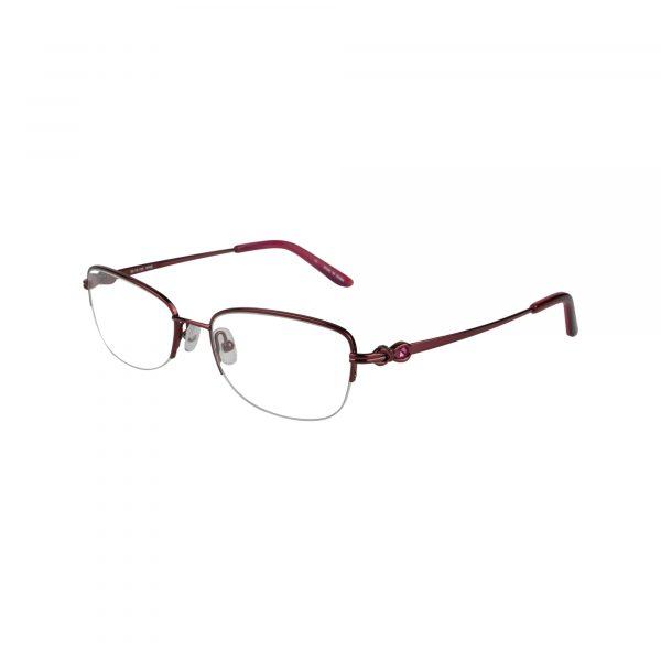 Twist Ashburn Red Glasses - Side View