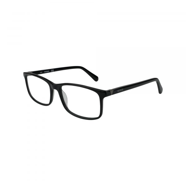 1948 Black Glasses - Side View
