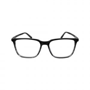J537 Gunmetal Glasses - Front View