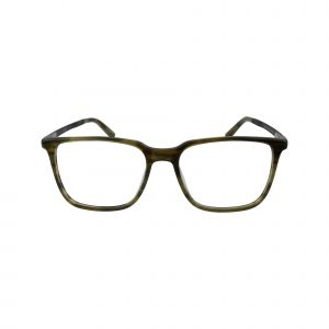 J537 Green Glasses - Front View