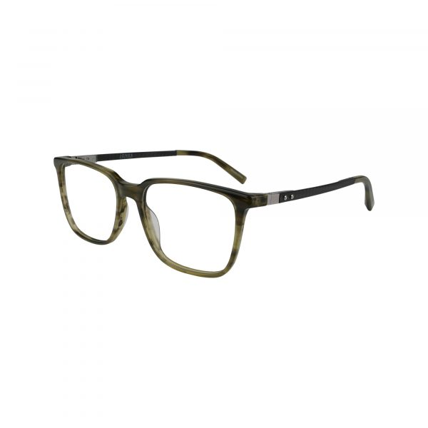 J537 Green Glasses - Side View