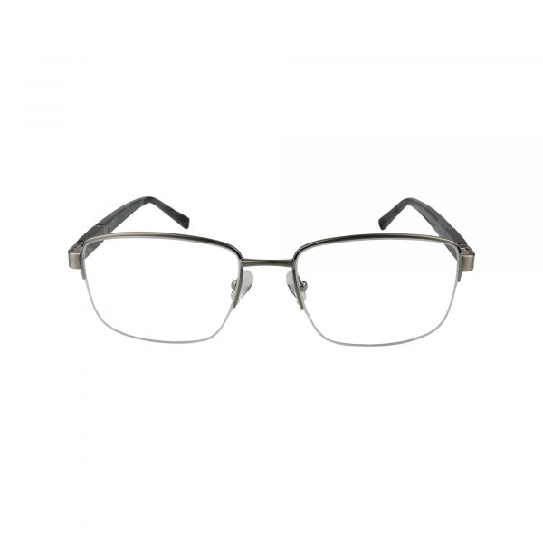J367 Gunmetal Glasses - Front View