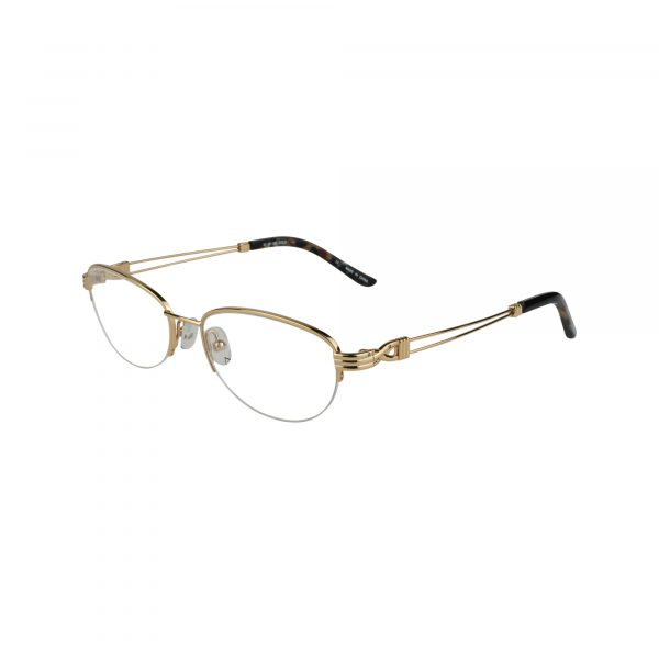 Twist Brielle Gold Glasses - Side View