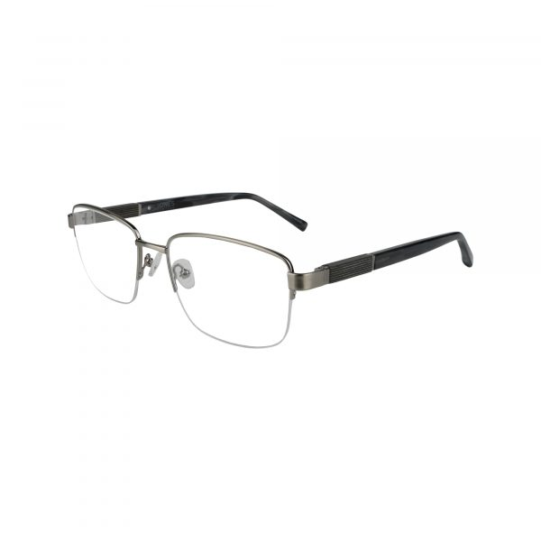 J367 Gunmetal Glasses - Side View