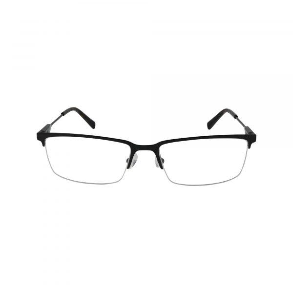 J363 Black Glasses - Front View