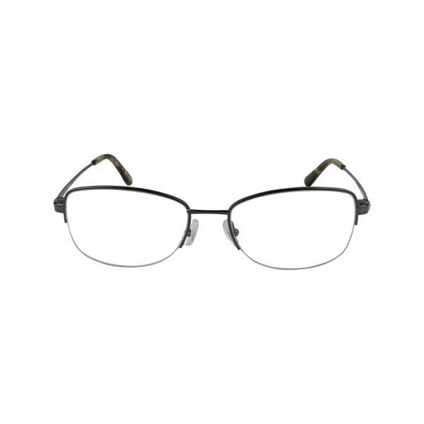 Twist Harmonie Park Gunmetal Glasses - Front View