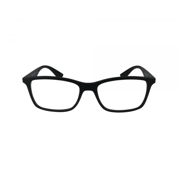7047 Black Glasses - Front View