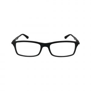 7017 Black Glasses - Front View