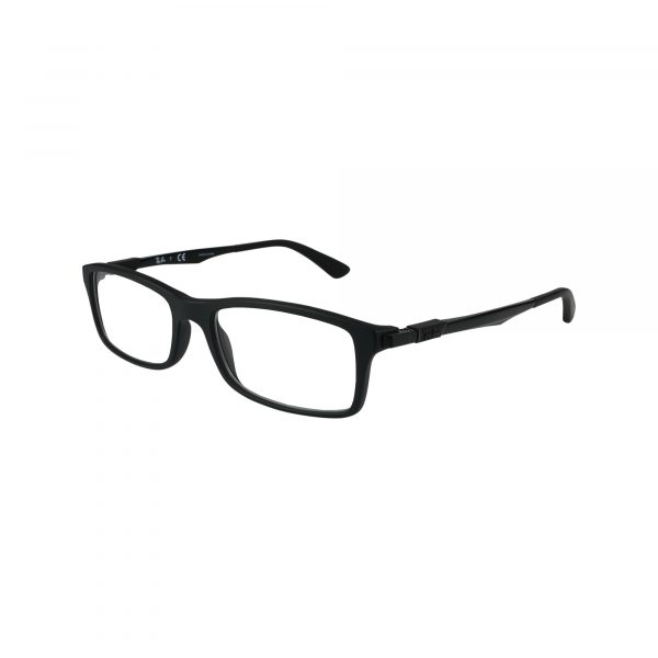 7017 Black Glasses - Side View