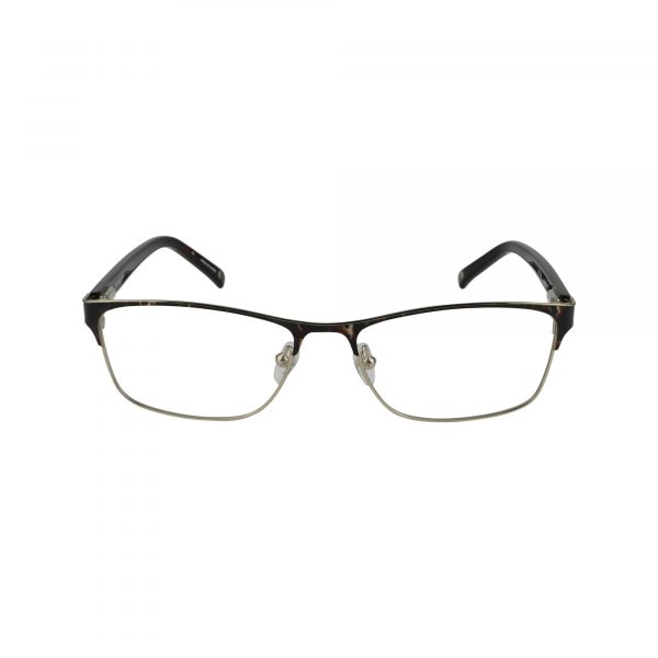 Claremont Brown Glasses - Front View