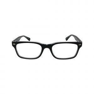 5286 Black Glasses - Front View
