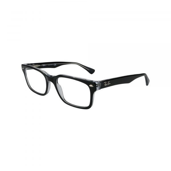 5286 Black Glasses - Side View