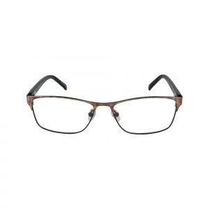 Claremont Black Glasses - Front View