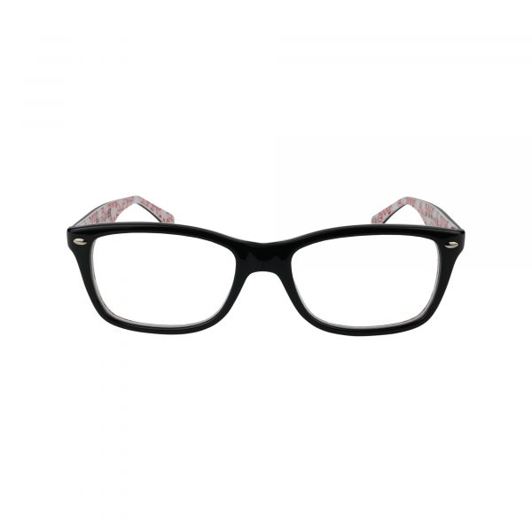 5228 Black Glasses - Front View