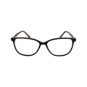 Westerly Black Glasses - Front View