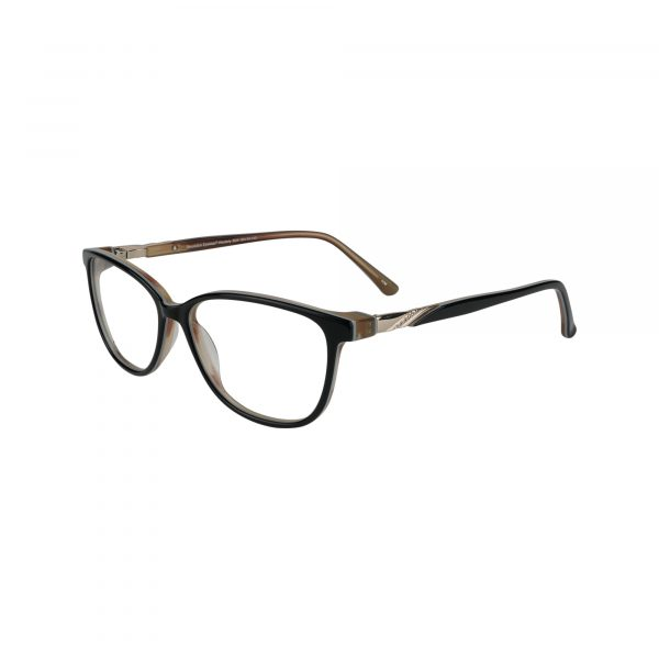 Westerly Black Glasses - Side View