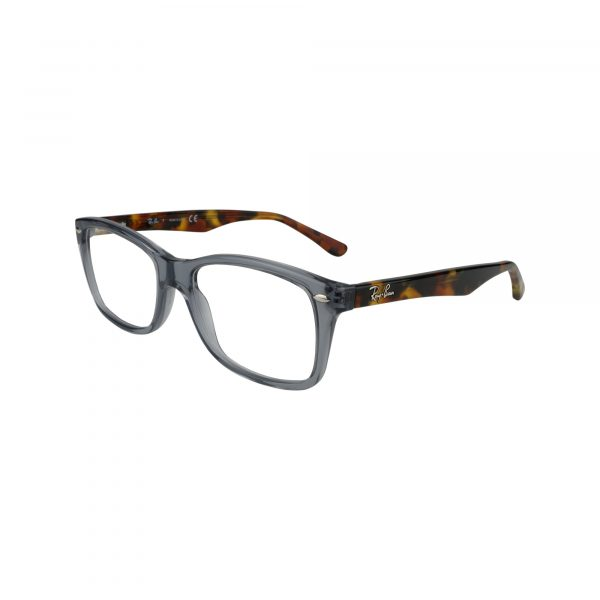 5228 Gunmetal Glasses - Side View