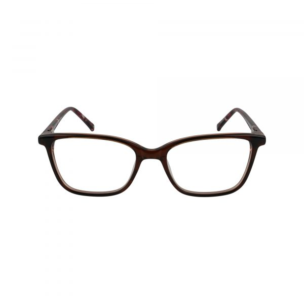 Cary Brown Glasses - Front View