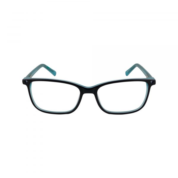 Biloxi Green Glasses - Front View