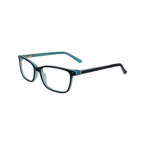 Biloxi Green Glasses - Side View