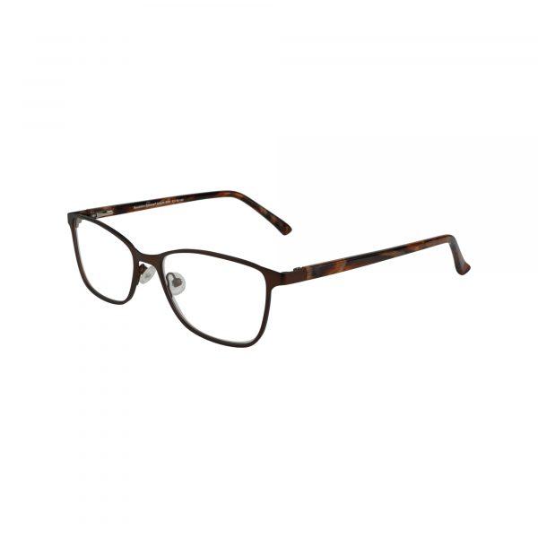 Auburn Brown Glasses - Side View