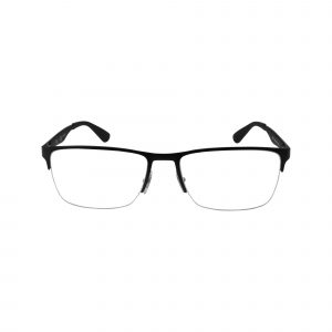 6335 Black Glasses - Front View