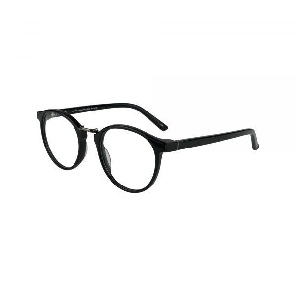 Flint Black Glasses - Side View