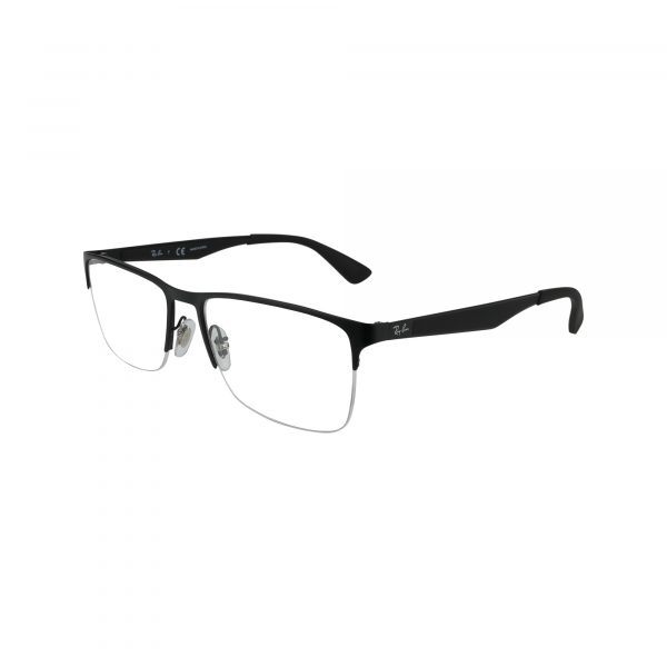 6335 Black Glasses - Side View