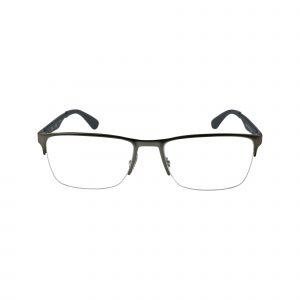 6335 Gunmetal Glasses - Front View