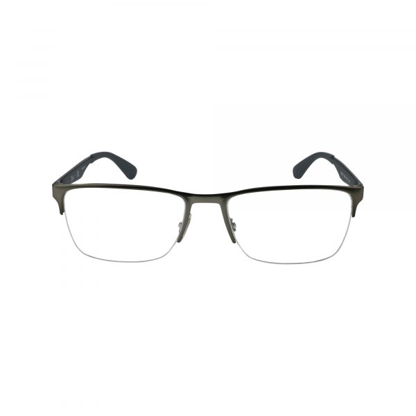 6335 Gunmetal Glasses - Front View