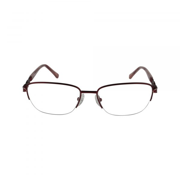 Selma Red Glasses - Front View