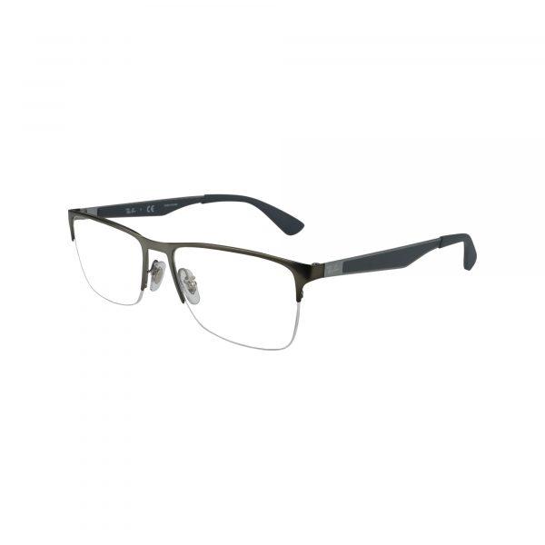 6335 Gunmetal Glasses - Side View