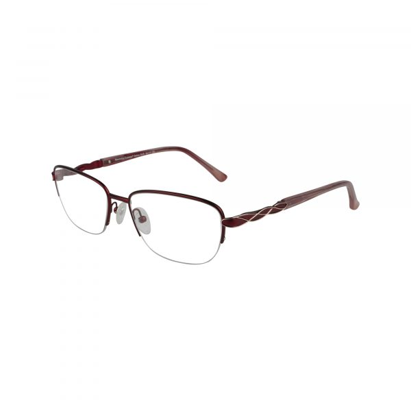 Selma Red Glasses - Side View